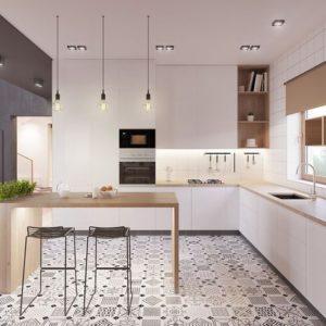 15 Model Lantai Dapur Rumah Pd Jani Gading Furniture