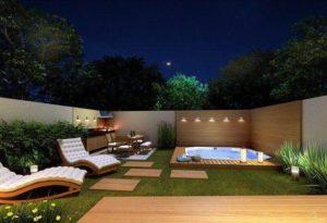 taman belakang rumah