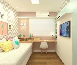 wallpaper kamar tidur sempit
