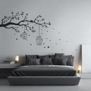wallpaper kamar tidur sederhana