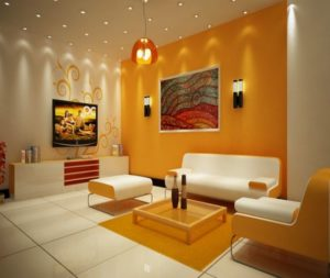 45 Perpaduan Warna Cat Ruang Tamu