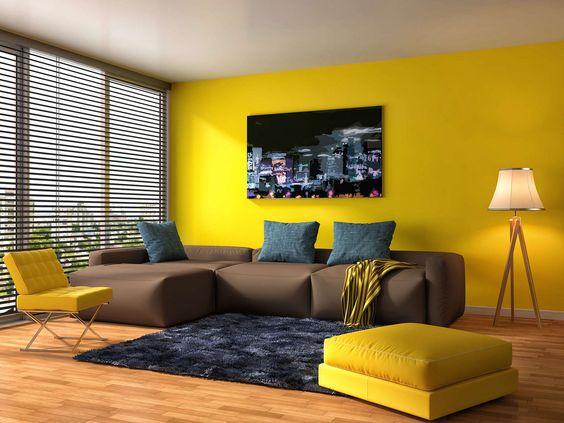 45+ Perpaduan Warna Cat Ruang Tamu Keren Dan Elegan