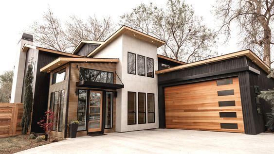 15 Desain Rumah Kayu Unik Dan Cantik