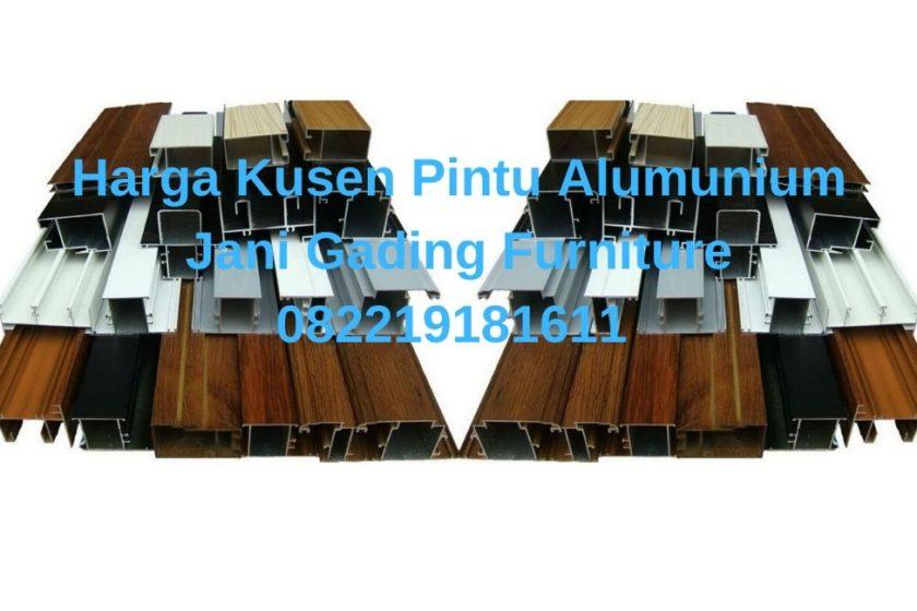 Pasaran Harga Kusen Pintu Alumunium