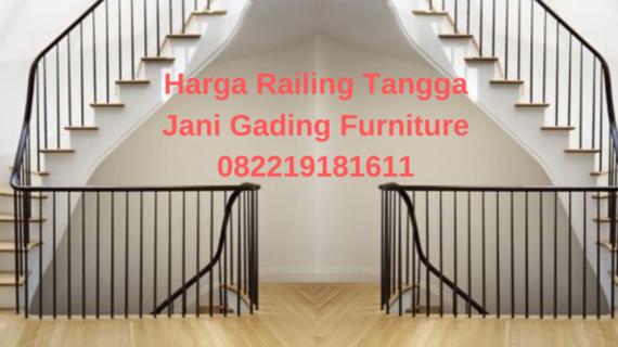 Harga Railing Tangga Tangerang