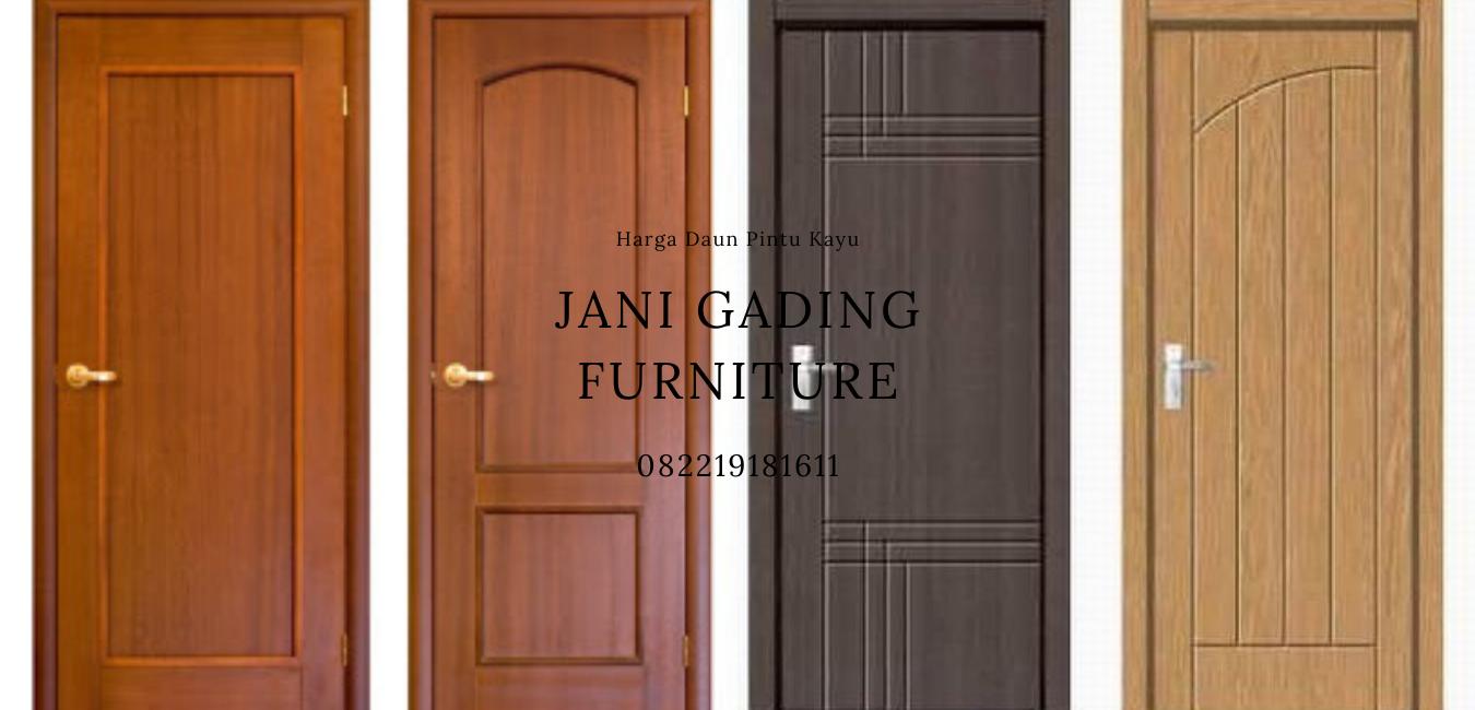 Harga Pintu Aluminium Dan Kayu Termurah Jani Gading Furniture