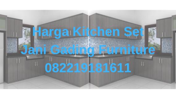 Pasaran Harga Kitchen Set Terbaru