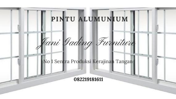 Harga Pintu Aluminium Termurah Bekasi