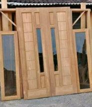 harga pintu kayu palembang