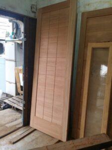 harga pintu kayu meranti oven