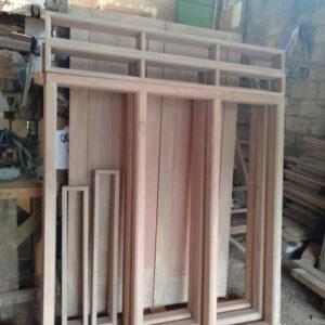 harga daun jendela kayu meranti oven
