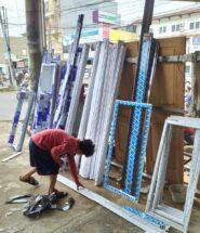 harga jendela kaca aluminium per m2